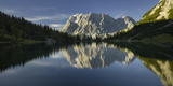 Zugspitze, Seebensee, Miemingen Mountains, Tyrol, Austria Photographic Print by Rainer Mirau