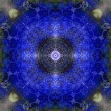 An Energetic Symmetric Onament from Flower Photographs Photographic Print by Alaya Gadeh