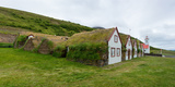 Panorama, Turf House Laufas Photographic Print by Catharina Lux