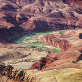 Colorado River as Seen from the Lipan Point, Grand Canyon National Park, Arizona, Usa Photographic Print by Rainer Mirau