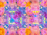 Floral Montage Photographic Print by Alaya Gadeh