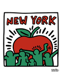 Untitled, 1989 Plakater af Keith Haring