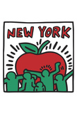 Untitled, 1989 Posters par Keith Haring