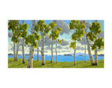 Afternoon at Birch Beach Prints by Charles Fenner Ball