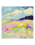 Landschaft II Kunstdruck von Kim McAninch