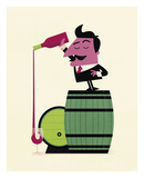 Wine Prints by Spencer Wilson