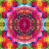 Floral Mandala Ornament Photographic Print by Alaya Gadeh