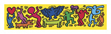 Untitled, 1987 Giclée-tryk af Keith Haring