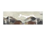 Mountain Pass Print by Nancy Ortenstone