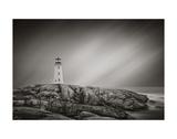 Peggy's Cove Lighthouse Plakaty autor Steve Silverman