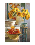 Sunflowers & Tomatoes Prints by Heide Presse