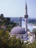 Bosnia, Pocitelj, Neretva, Mosque Photographic Print by  Thonig