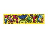 Ohne Titel, 1987 Kunstdruck von Keith Haring