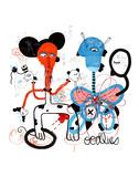 Entanglement Poster af Joi Murugavall