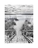 Follow the Steps Giclée-tryk af Mary Lou Johnson