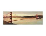 Golden Gate Plakater af Paulo Romero