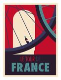 Tour de France Plakater af Spencer Wilson