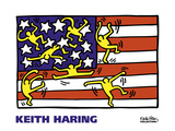 American Music Festival - New York City Ballet, 1988 Plakat af Keith Haring