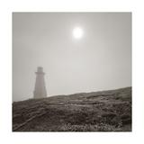 Cape Spear Giclée-tryk af Steve Silverman