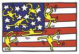 American Music Festival - New York City Ballet, 1988 Plakater af Keith Haring