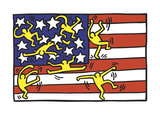 American Music Festival - New York City Ballet, 1988 Giclée-tryk af Keith Haring