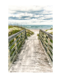 Seaside Entry Prints by Mary Lou Johnson