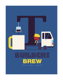 Builders Brew Posters by Spencer Wilson