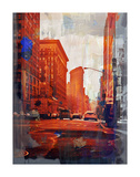 NY Downtown 14 Plakat af Sven Pfrommer