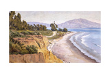 Channel Drive Montecito Prints by Ludmilla Welch