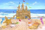Sand Castle Print by Scott Westmoreland