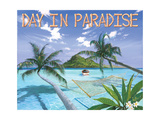 Day in Paradise Premium Giclee Print by Scott Westmoreland