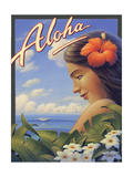 Aloha Posters by Kerne Erickson