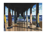 Pier Group Print by Scott Westmoreland