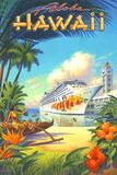 Kerne Erickson - Pride of Hawaii - Poster