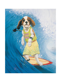 Surf Dawg Poster by Scott Westmoreland