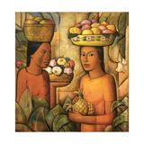 Mujeres Con Frutas Pósters por Alfredo Ramos Martinez