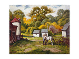 Early Fall Print by Stan Poray