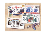 License Plates Art by Scott Westmoreland