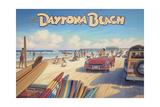 Daytona Beach Posters by Kerne Erickson