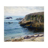 On the 17 Mile Drive Prints by Guy Rose