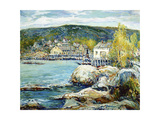 Harbor Day Print by Charles Reiffel