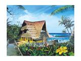 Hawaiian Hideaway Posters by Scott Westmoreland