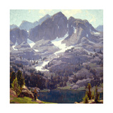 Mountain Lake Sierras Prints by Edgar Payne
