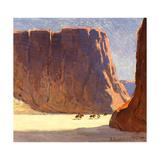 Canyon De Chelly Art by Edgar Payne