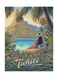 Kerne Erickson - Tahiti - Art Print