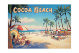 Cocoa Beach Print by Kerne Erickson