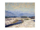 San Gabriel Wash Prints by Guy Rose