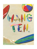 Hang Ten Prints by Scott Westmoreland