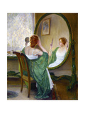 The Green Mirror Prints by Guy Rose