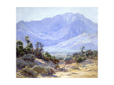 Mt. San Jacinto Near Palm Springs Prints by John Frost